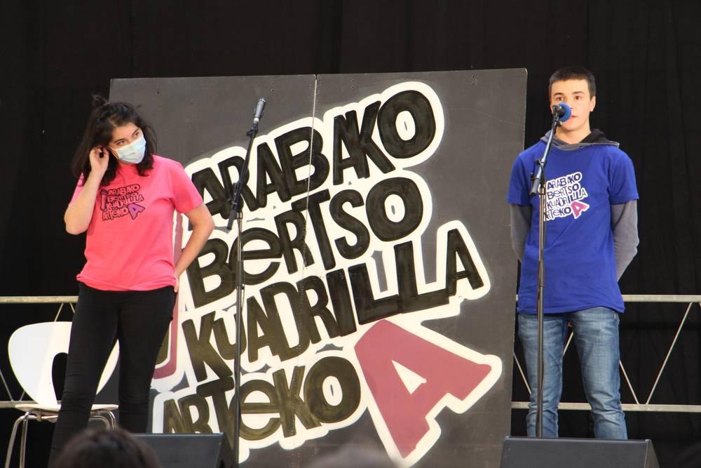 Aramaioko Izenbakuek taldea garaile Arabako kuadrillartekoan