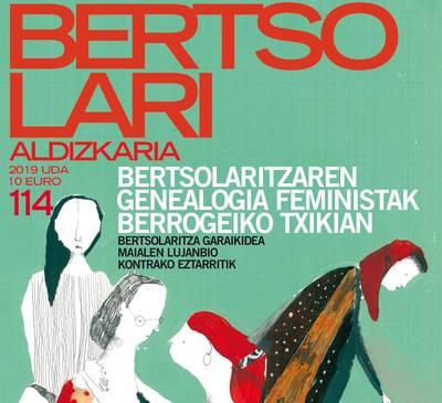 'Bertsolari' aldizkariaren udako alea, feminismoari eskainia
