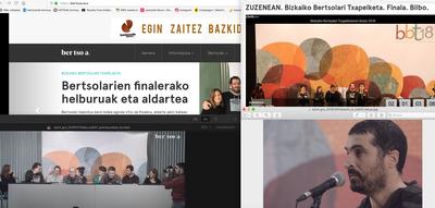 2018ko Bizkaiko Bertsolari Txapelketako finala sareko plazan