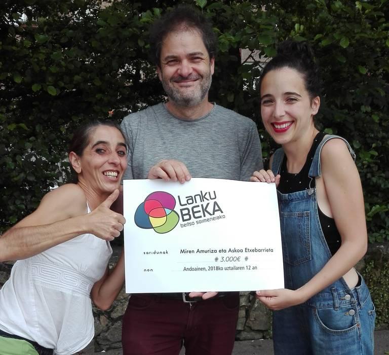'Tan takatan' kopla eta flamenkoa batzen dituen proiektuak jaso du Lanku Beka