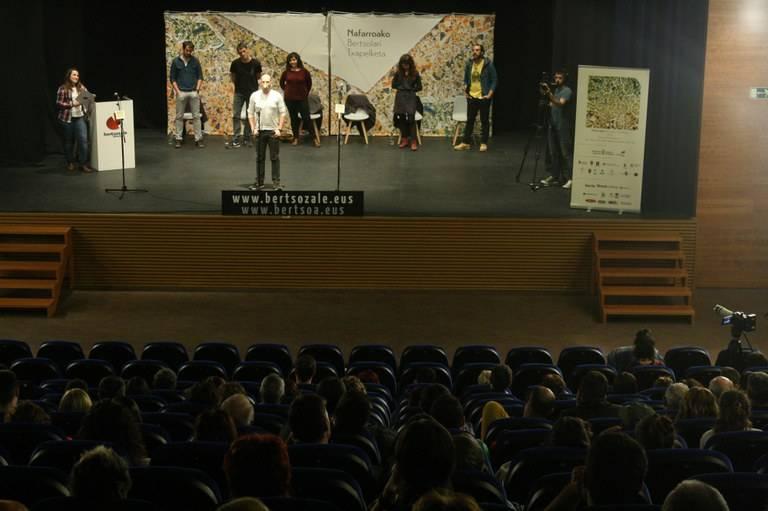 Eneko Lazkoz Nafarroako finalera, Atarrabian irabazita