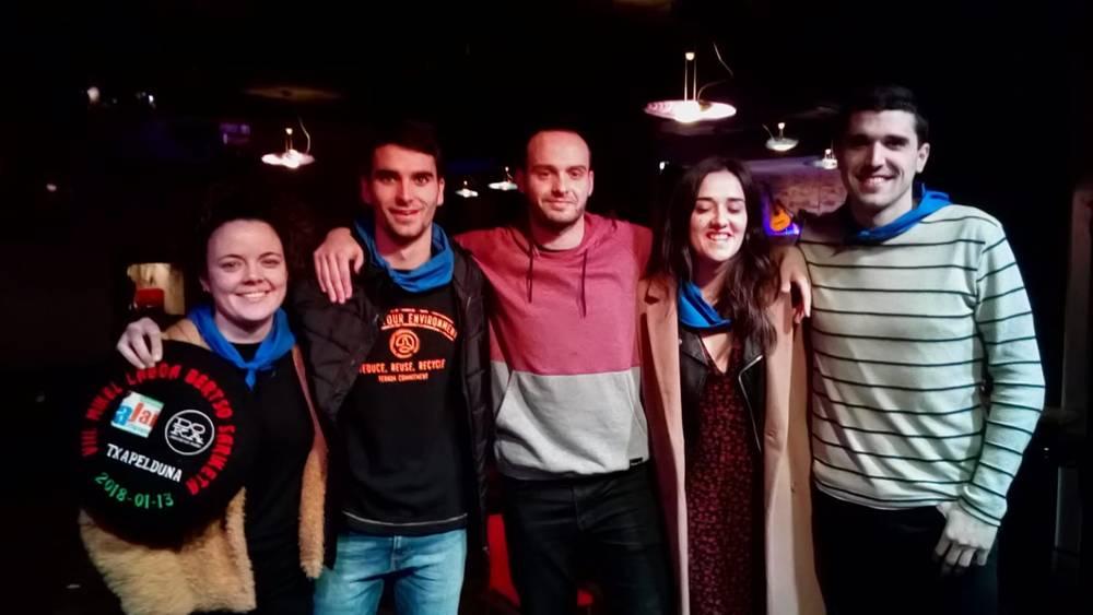 Haritz Mujikak irabazi du Mikel Laboa sariketa, Donostian