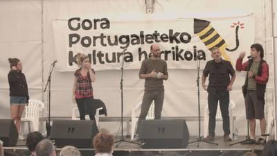 Arrantza modan jarri da Portugaleten ere...