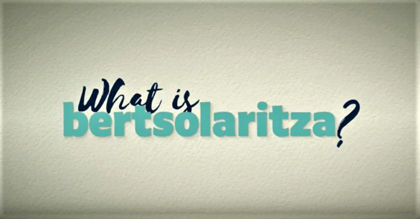 'What is Bertsolaritza' Uda Ikastaroetan