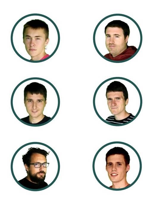 Servier, Prebende, Iriart, Diaz, Altuna eta J. Txoperena Hiriburun, hirugarren kanporaketan