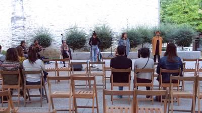 Likore museotik pasa ondoren Amurrioko artzai egunean