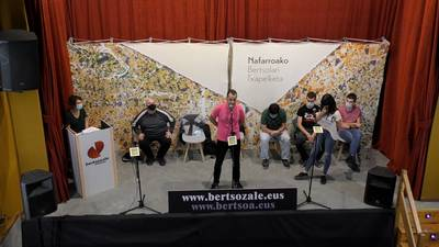 Zortziko txikia. Eneko Fernandez eta Idoia Granizo.