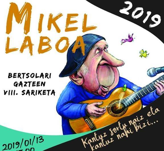 Mikel Laboa gazte sariketa igandean Donostian