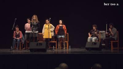Oihana Iguaran, Oihane Perea, Alaia Martin eta Oihana Bartra