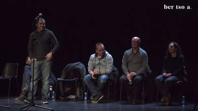 Aitor Sarriegi, Maialen Lujanbio, Unai Agirre, Andoni Egaña eta Iker Zubeldia. Puigdemont gobernua osatzen