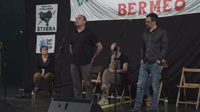 Igor Elortza eta Fredi Paia. Batak aita preso eta besteak itsasoan.