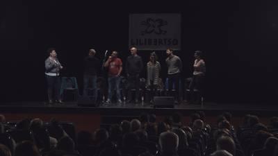 Unai Iturriaga, Aitor Sarriegi, Jone Uria, Oihana Iguaran, Andoni egaña eta Etxahun Lekue. Zertan zarete aberats?