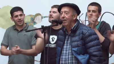 Juan Mari Areitio. Txapeldunaren agurra.